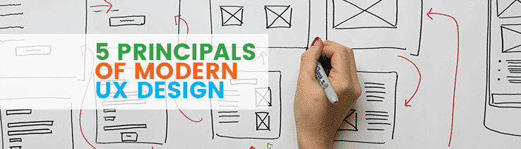 5 Principles of Modern UX Design